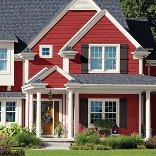 Exterior Red Paint Colors